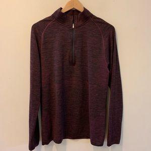 Lululemon Vent Tech Half Zip Pullover Shirt